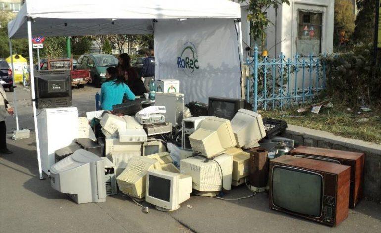 Piteștiul participă la Ziua Internațională a Reciclării Deșeurilor Electrice!