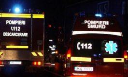 ACUM! Accident grav in Argeș - Mașină căzută în râpă