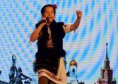 GALERIE FOTO ! O minune de copil ! Argeşeanca Ana Maria Diaconu a cucerit Moscova la un festival international de muzica