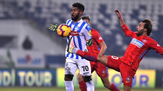 Poli Iaşi – FCSB 1-2 Denis Mann și Florin Tănase au întors meciul și mențin FCSB la două puncte în spatele liderului CFR Cluj