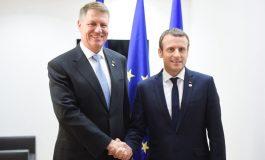 Întâlnire CRUCIALĂ! Iohannis - Macron