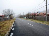 VESTI BUNE ! S-au asfaltat 3 km de drum judeţean si s-a finalizat un pod