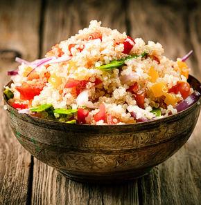 Quinoa: două reţete de post sănătoase