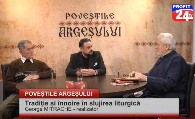 VIDEO – Doi invitaţi de marcă şi colindelele vechi din Arefu, în studioul Profit 24 TV