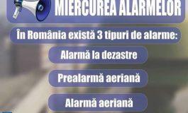 """NU INTRATI ÎN PANICĂ ! Azi e """"Miercurea alarmelor"""""""