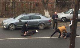 FOTO VIDEO ! Accident Curtea de Argeş ! Două pensionare spulberate de o masină