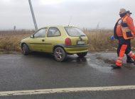 ACUM! Accident in Argeș - A intrat cu mașina in stâlp