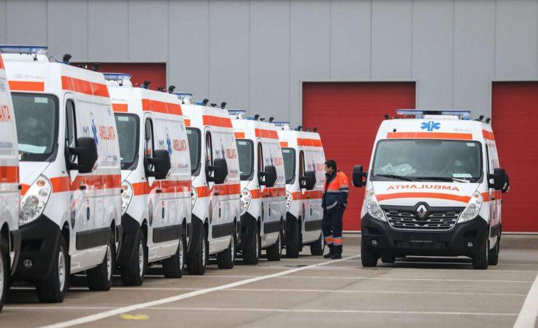 Renault livreaza o flotă de 300 AMBULANŢE pentru IGSU