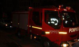 ACUM! Incendiu in scara unui bloc din Curtea de Argeș