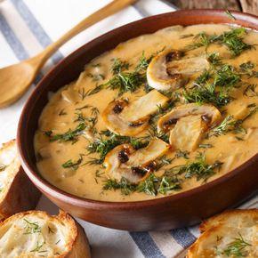 Supă de ciuperci: reţete delicioase și ușor de pregătit