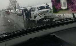 ACUM! ACCIDENT LA ALBOTA
