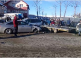 VIDEO si FOTO ! ACCIDENT GROAZNIC LA CURTEA DE ARGES - TRAFIC BLOCAT