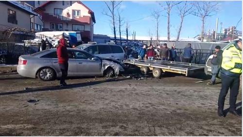 VIDEO si FOTO ! ACCIDENT GROAZNIC LA CURTEA DE ARGES – TRAFIC BLOCAT