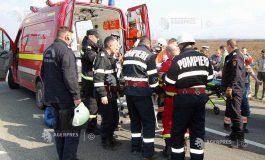 ACUM ! Accident grav în Argeş - A intrat cu masina in TIR