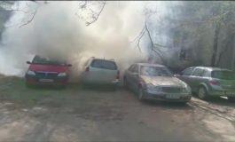 ACUM! Posibil incendiu mașină in Curtea de Argeș - Intervin pompierii