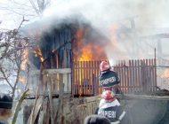 ACUM ! Incendiu la Albeşti - Pompierii în alertă !