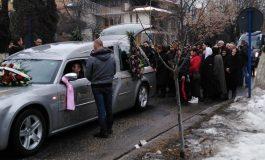 VIDEO ŞI FOTO Înmormântarea soţiei lui Gheorghe Boncea