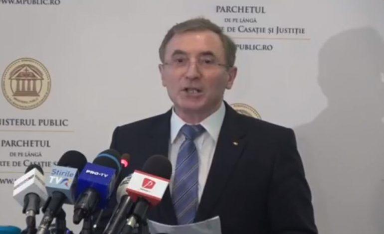 Procurorul general, despre nregistrările de la DNA Oradea: Procurorii trebuie să-și desfășoare activitatea cu respectarea strictă a legii