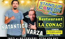 NU RATA ! Va fi super show - Stand Up cu Natanticu şi Varză la restaurantul LA CONAC