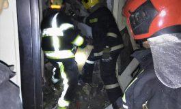 ACUM, o butelie a explodat într-o casa din Argeş