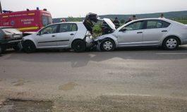 ACUM! ACCIDENT ÎN LANŢ pe autostradă!