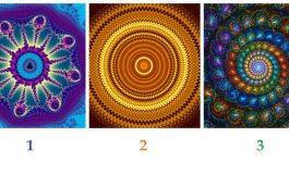 TEST! Alege un fractal si afla mesajul special pentru tine