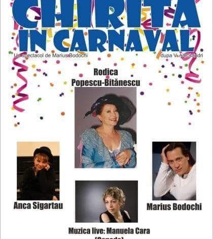 """,,Chirița în carnaval""""la Centrul de Cultură și Arte ,,George Topîrceanu"""""""