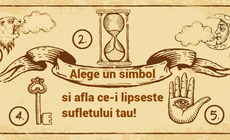 Alege un simbol si afla ce-i lipseste sufletului tau!
