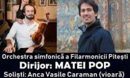 Concert simfonic la Filarmonica Pitești