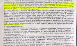 SCANDAL MONSTRU ÎN PRIMĂRIA CURTEA DE ARGEŞ - PIC şi POC în derivă, angajaţii ameninţă că demisionează  DOCUMENT