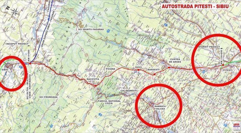 OFICIAL ! În Argeş, încep exproprierile pentru autostrada Piteşti-Sibiu