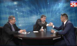 La prima sa emisiune în Argeş, Grigore Cartianu a bătut palma, în direct, cu Pro România !  VIDEO