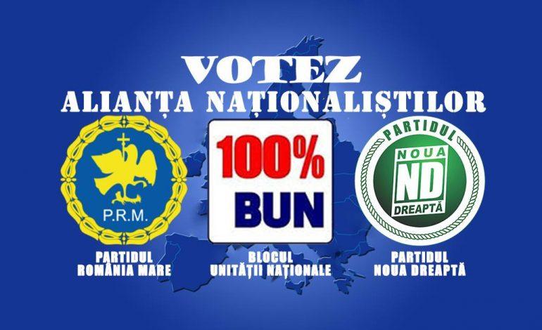PRM a bătut palma cu Noua Dreapta ! A fost înregistrată la BEC prima alianta electorală