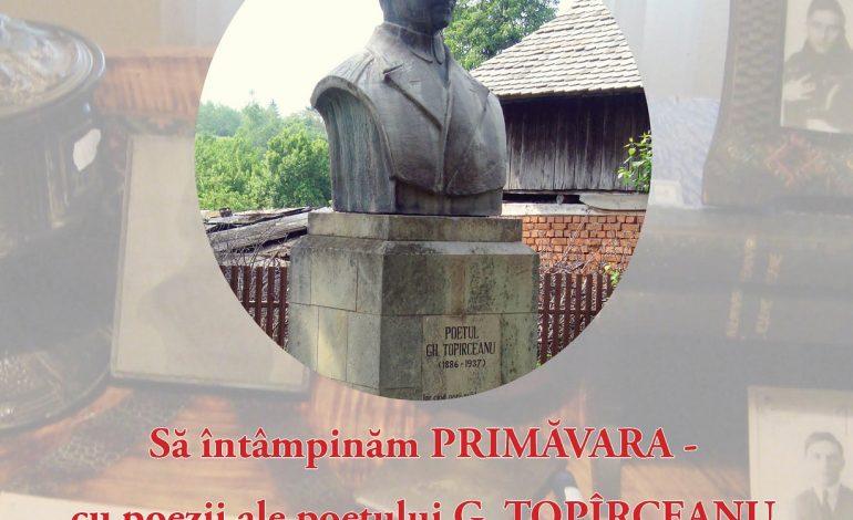 EVENIMENT! George Topîrceanu, omagiat la Nămăeşti – Primăvara se întîmpină cu poeziile marelui poet