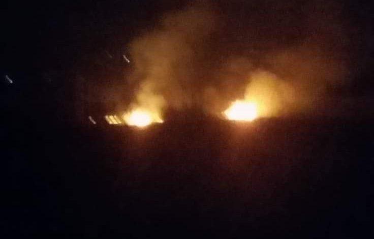 VIDEO ACUM! Incendiu la Zigoneni