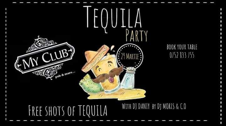 Tequilla Party with DJ Daniy/Moris team la My Club!