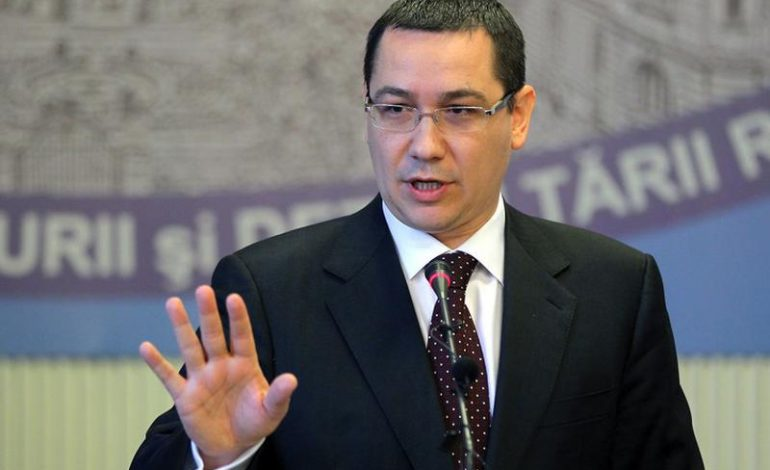 Victor Ponta: 'Eu încă sper ca domnul Dragnea, dacă are puţin curaj şi demnitate pentru PSD'