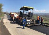 CAMPANIE ELECTORALĂ : PNL plimbă ursul, PSD cu mulsul ! Se asfaltează şi drumul Curtea de Argeş - Rm. Vâlcea