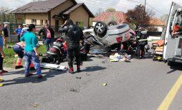 VIDEO - TRAGEDIE ÎN ARGEȘ ! Polițist mort in accident, la doar 32 ani