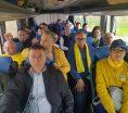PE MODEL PSD, ÎN FRUNTE CU MIUŢESCU, liberalii din Argeş au plecat cu autobuzele la mitingul din Teleorman