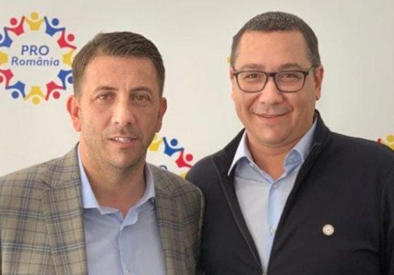 ŞOC ÎN PSD ARGEŞ ! Deputatul Nicolae Georgescu s-a înscris în Pro România