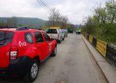 VIDEO ! NESIMŢIRE MARCA PSD - Podul de la Valea Danului blocat ilegal de angajatii CJ Argeş - Primarul Preda: VOM DA IN JUDECATA CJ ARGEŞ
