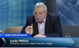 VIDEO | Primarul Vasile Preda: Îmi cer scuze tuturor locuitorilor din Valea Danului pentru blocarea podului