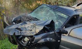 LA UN PAS DE MOARTE ! Accident grav in Argeş