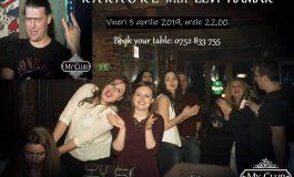 """Spectacol de karaoke la My Club ,,Karaoke with Levi"""""""