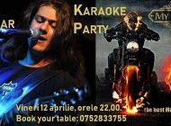 Vineri,12 aprilie, la MY Club, seară de karaoke!