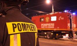 ACUM! Incendiu la un restaurant din Curtea de Argeș