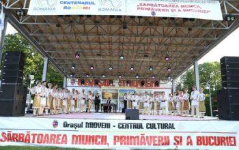 1 Mai, Sărbătoarea Primăverii şi Muncii , sărbătorită la Mioveni