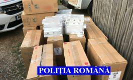 Ţigări de contrabandă confiscate la Rucăr