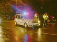 Urmărire ca-n filme, cu focuri de armă, în Argeș după ce lovit mașina poliției